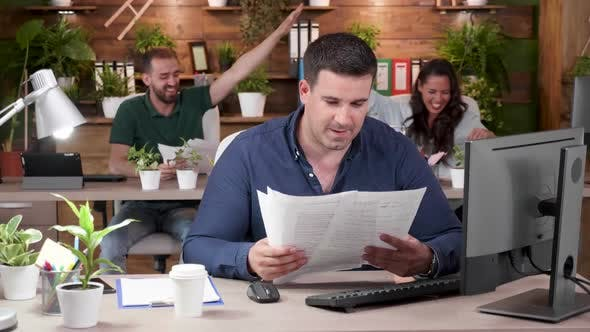 Thumbnail for Office Workers Are Celebrating a Big Achievement