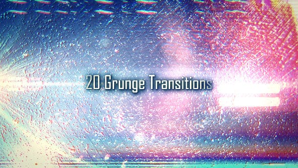 Thumbnail for 20 Grunge Transitions
