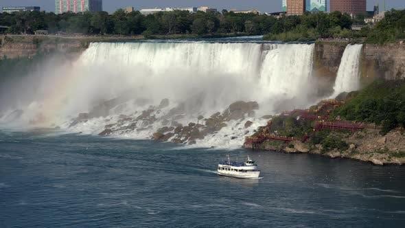 Thumbnail for Boat and Niagara Falls. Canada