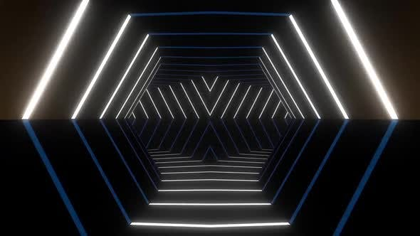 Cover Image for 7 Neon Tunnel VJ Loop Pack