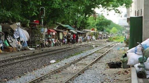 Eisenbahn-Slums