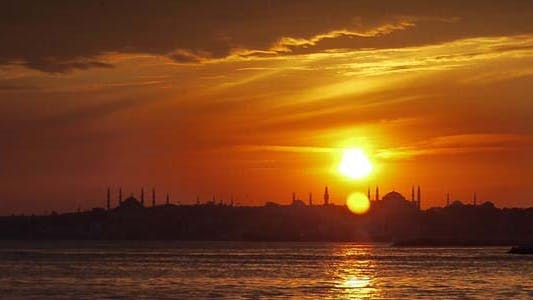 Thumbnail for Istanbul, Hagia Sophia City Moschee 2