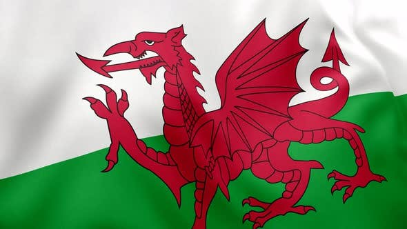 Cover Image for Flag of Wales - 4K
