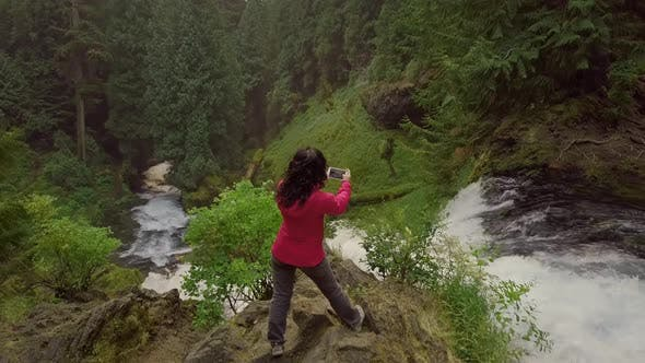 Thumbnail for Asian Woman Enjoying Nature