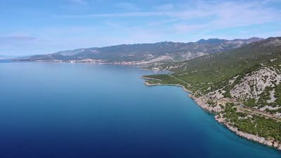 Croatia Sea Shore Panorama