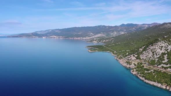 Croatia Sea Shore Panorama