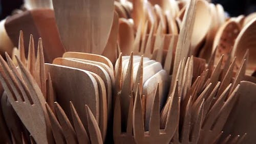 Handmade Wooden Forks And Spoons 2
