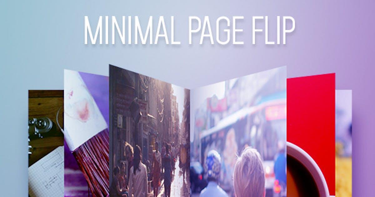 Download Minimal Page Flip by Madlistudio