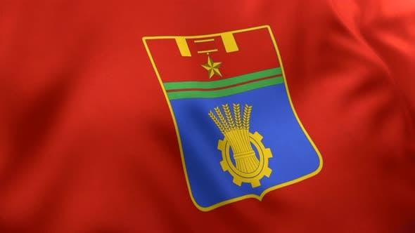 Volgograd CIty Flag (Russia) - 4K