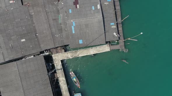 Cover Image for Flying Over Fishing Village