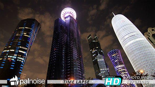 Thumbnail for Tower Building LED Doha Qatar