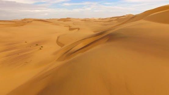 Thumbnail for Aerial  Shot of Namib Sand Sea