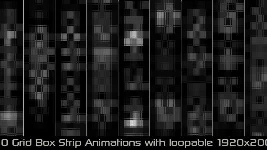 Thumbnail for Grid Box Strip Elements Pack