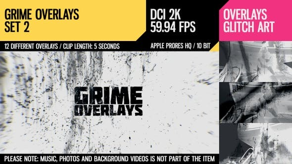 Thumbnail for Grime Overlays (2K Set 2)