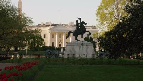 Thumbnail for White House in the Spring Washington DC 02B