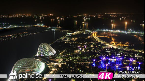 Thumbnail for Singapore, Bay City Lights