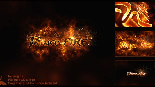 Thumbnail for Prince of Fire Logo