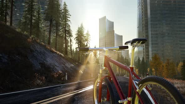 Thumbnail for City Bicycle on the Road