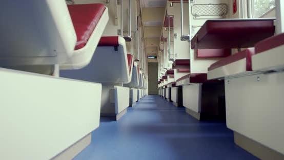 Thumbnail for Inside a Passenger Train in East Europe