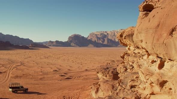 Wadi Rum Wüste Jordan