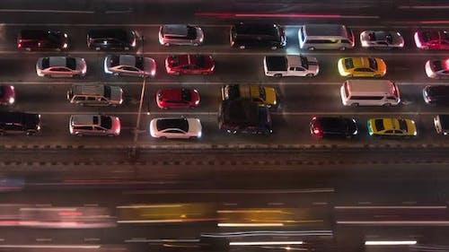 Car Traffic On Street