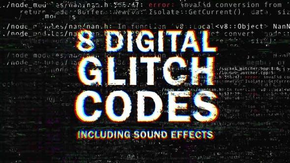 Thumbnail for 8 Digital Glitch Codes