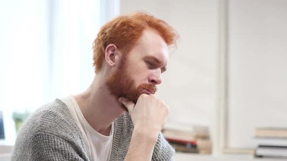 Thumbnail for Thinking Man at Work, Pensive