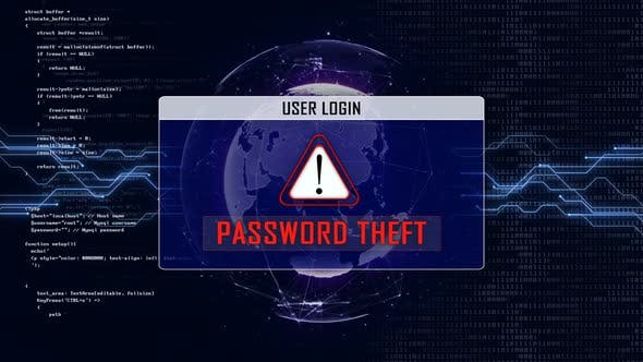 PASSWORD THEFT and Earth Connections Network