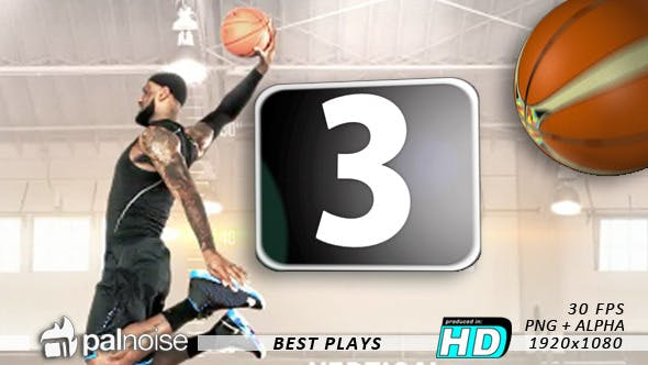 Thumbnail for Best Plays Basketball Countdown (12-Pack)