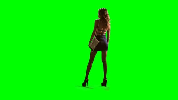 Thumbnail for Prostitute On Chromakey