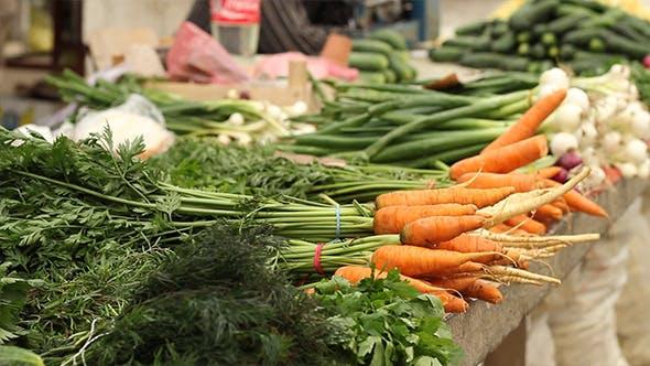 Thumbnail for Organic Carrots at Market