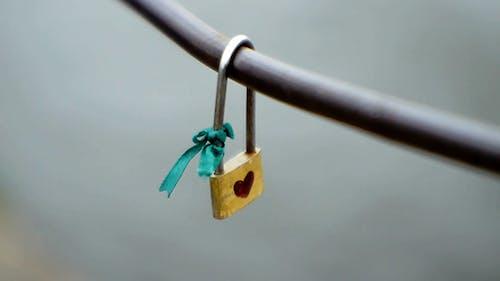 The Lock On The Railing