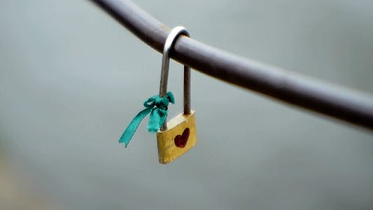Thumbnail for The Lock On The Railing