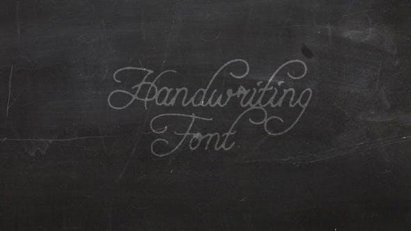 Thumbnail for Handwriting Font