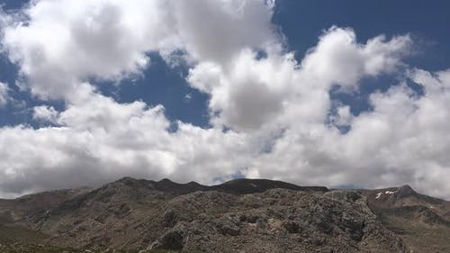 Mountain Ambience in Arid and Barren Treeless Hills