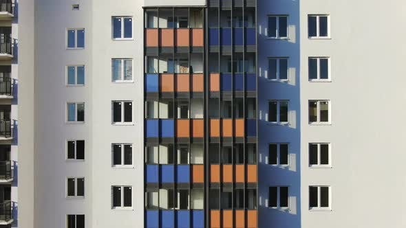 Thumbnail for Facade of the beautiful colorful building