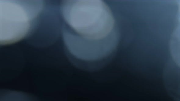 Thumbnail for Blue, Blurred, Bokeh Lights Background. Abstract Sparkles.