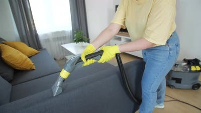 Furniture Wet Cleaning Concept