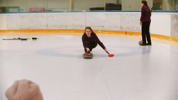 Thumbnail for Curling Training in the Sport Complex