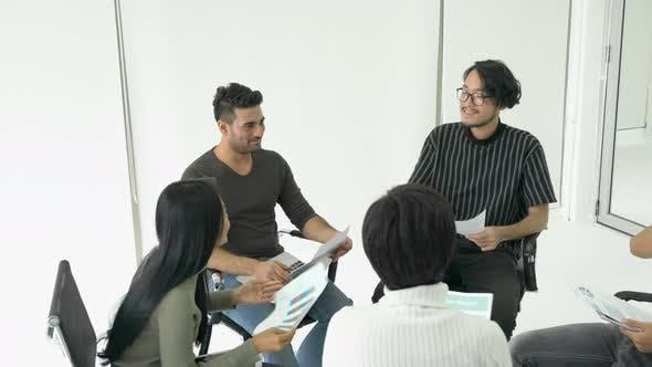 Meeting team