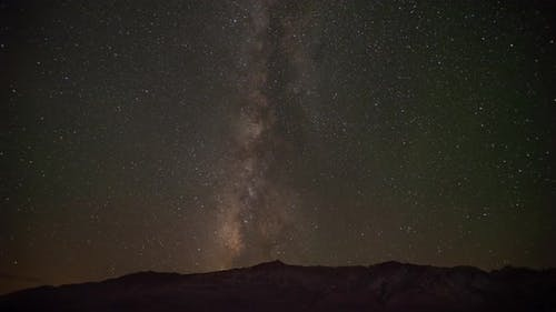 Time Lapse Of The Milky Way