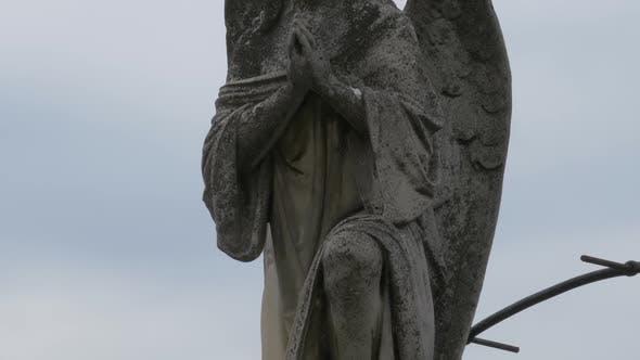 Thumbnail for Praying Angel Statue