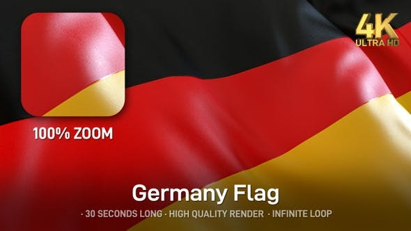 Germany Flag - 4K