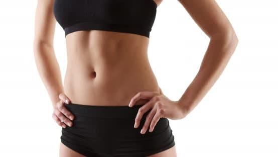 Thumbnail for Fitness mixed race woman looking at camera