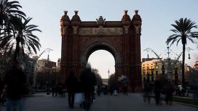 Triumph Arch in Barcelona