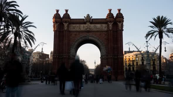 Thumbnail for Triumph Arch in Barcelona