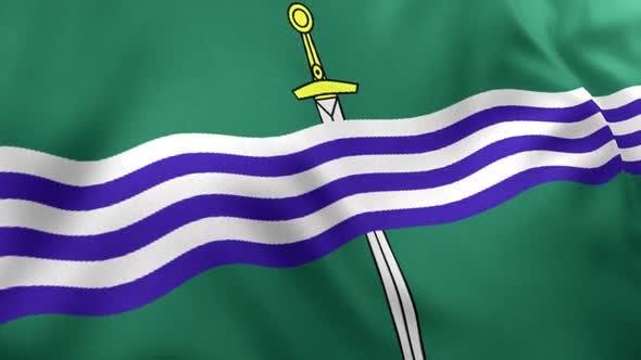 Peterborough City Flag (Canada)