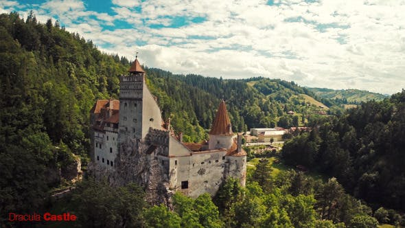 Thumbnail for Flying over Dracula Castle