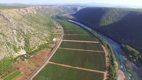 Thumbnail for Dramatic view of a Bosnian canyon