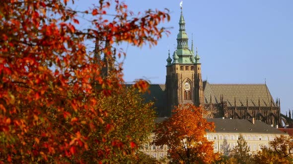 Thumbnail for Saint Vitus Cathedral in the Autumn